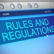 Rules and regulatins
