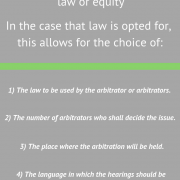 The advantages of arbitration vs. judicial procedure
